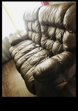 2 leather loveseat recliners couches in Kingwood, Texas
