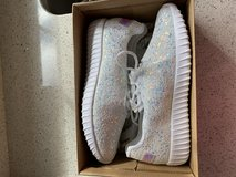 Glitter sneakers in Quantico, Virginia