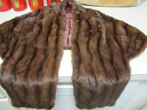VINTAGE MINK KERRYBROOKE STOLE / SHAWL BY SEARS AND ROEBUCK in Cherry Point, North Carolina