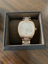 Michael Kors Rose Gold Watch NEW in Fort Leonard Wood, Missouri