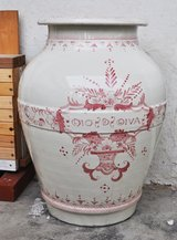 HUGE Italian terracotta olive oil vase in Okinawa, Japan