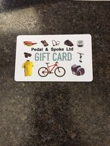 $80 Gift Card Pedal and Spoke in Batavia, Illinois