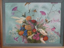 Bright Florals on Canvas #1039-469 in Camp Lejeune, North Carolina
