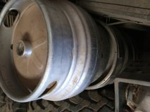 Beer kegs in Alamogordo, New Mexico