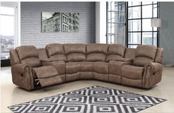 United Furniture - Lodge Sectional - NEW ITEM - price includes delivery in Stuttgart, GE