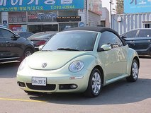 2006 Volkswagen New Beetles Cabriolet (convertible) in Osan AB, South Korea