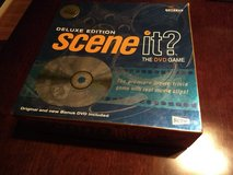 Board Game/DVD Game: Scene It? Deluxe Movie Trivia Game (2004) in Kingwood, Texas