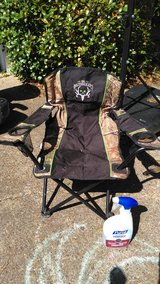 Youth Camo Camping chair Bone Collector with carry bag in Kingwood, Texas
