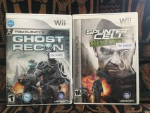 Wii Games - 2 Tom Clancy Video Games in Glendale Heights, Illinois