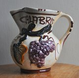 Wine pitcher from Calabria (Italy), handmade in Okinawa, Japan