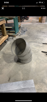 "18"" 45 degree angle spiral metal fittings in Fort Jackson, South Carolina"