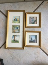 set of 3 framed Pooh Bear Pictures in Stuttgart, GE