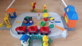 Little People train, Bus, Airplane and playground in Baumholder, GE