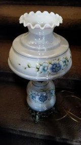 Vintage / Blue / Floral Victorian Lamp in Fort Campbell, Kentucky