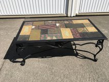 Beautiful Tiled wrought iron table (reduced) in Wiesbaden, GE