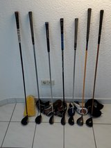 3 Woods, 4 Woods, Hybrids w/covers in Ramstein, Germany