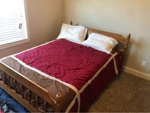 Full size bed frame mattress and box springs in Warner Robins, Georgia