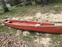 Canoe 17 ft plastic and metal in Fort Leonard Wood, Missouri