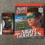 Hard-to-Find Spy Gear Items - Night Goggles and Micro Agent Listener in Bolingbrook, Illinois