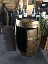 French hand crafted Wine Barrels in stock in Ramstein, Germany