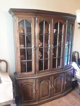Wooden Hutch / Wooden Table and 10 Chairs in Fort Belvoir, Virginia