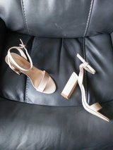 NIB Nude dress sandals in Aurora, Illinois