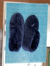 Navy blue slippers in Quantico, Virginia
