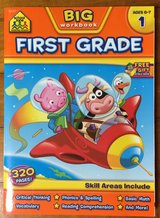 NEW BIG workbook FIRST GRADE AGES 6-7 in Okinawa, Japan