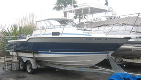 89 Bayliner 22.5 TROPHY with HardTop and DUAL Force 125 + Trailer in Camp Pendleton, California