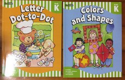 NEW FlashKids PreK-K Letter Dot-to-Dot/Colors and Shapes in Okinawa, Japan