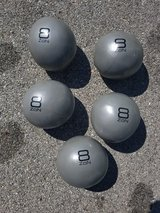 Weighted Medicine Balls / Slam Balls 8lbs (only 2 left) in Plainfield, Illinois