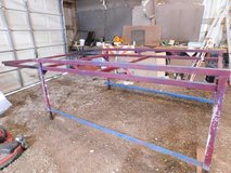 Truck rack for 8 foot bed. Sits over cab. one leg could be beefed up but , still  works fine .  ... in Kankakee, Illinois