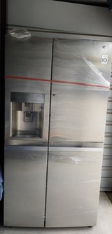 LG Stainless Steel refrigerator in Fort Riley, Kansas