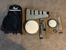 Pearl PL900C Snare and Bell kit in Fort Leonard Wood, Missouri