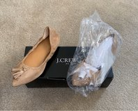 Camel Suede Tassel Flats J Crew size 8 in Fort Belvoir, Virginia
