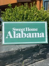 Sweet Home Alabama wooden sign in Spangdahlem, Germany