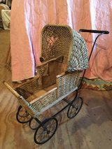 Vintage Antique Doll Baby Stroller in Naperville, Illinois