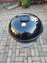 Weber Original Kettle Premium Charcoal Grill, 22-Inch in Ramstein, Germany