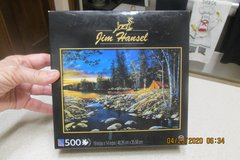Jigsaw Puzzle By Jim Hansel -- New Condition!  It's A Great Time For A Puzzle! in Kingwood, Texas