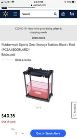 Rubbermaid Sports-gear Stotage Station in Plainfield, Illinois