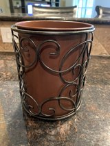 Southern Living at Home Estates Metal Scroll Bucket - Small in Tomball, Texas