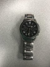 mens silver fossil watch in Fort Leonard Wood, Missouri