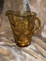 Vintage Amber Pitcher in Fort Campbell, Kentucky