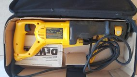 DeWalt Reciprocating Saw (120V - 60Hz) in Ramstein, Germany