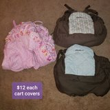 Cart Covers- REDUCED in Bolingbrook, Illinois