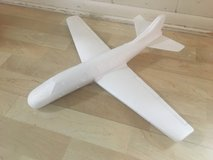 """Foam Glider Plane 22"""" Wingspan Hand Launched in Chicago, Illinois"""