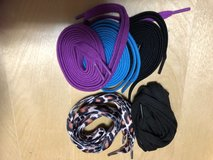5 Sets shoe laces.  New in Denton, Texas