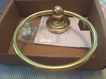 Towel Ring for Wall Hanging Brass Used in Kingwood, Texas