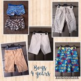 bundle of boys shorts and trunks. age 4 years in Lakenheath, UK