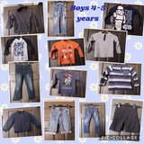 bundle of boys clothes. age 4-5 years in Lakenheath, UK